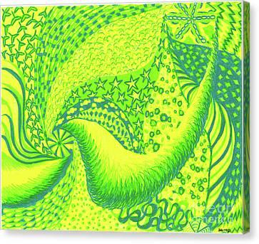Lemon Lime Canvas Print by Kim Sy Ok