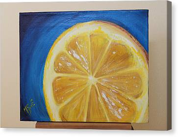 Lemon Canvas Print by Matt Burke