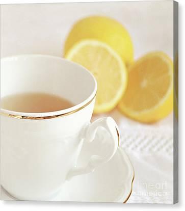 Canvas Print featuring the photograph Lemon Tea by Lyn Randle