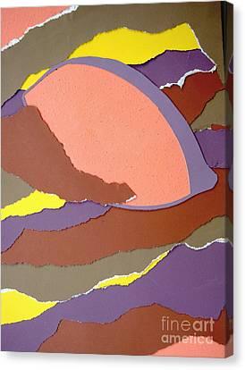 Lemon Twist Canvas Print by Vonda Lawson-Rosa