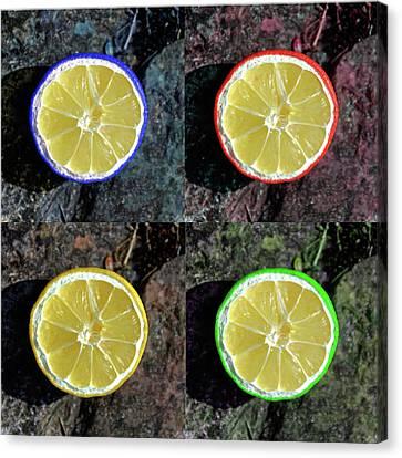 Lemons Canvas Print by Rob Hawkins