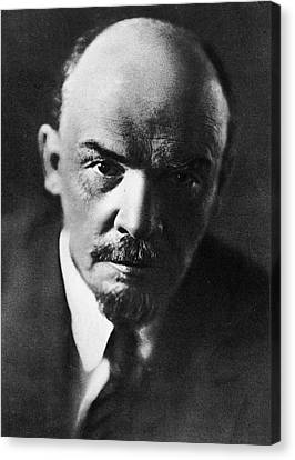 Lenin Canvas Print by Russian School