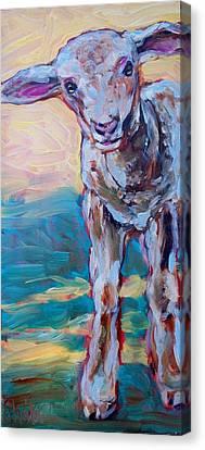 Lennie Canvas Print by Sheila Tajima