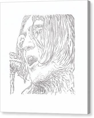 Lennon Everybody Had A Hard Year Canvas Print
