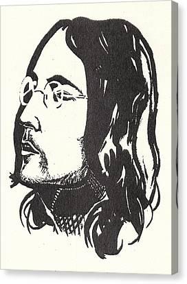 Lennon Happiness Is A Warm Gun Canvas Print
