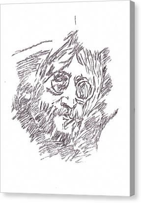 Lennon I'm The Greatest Canvas Print