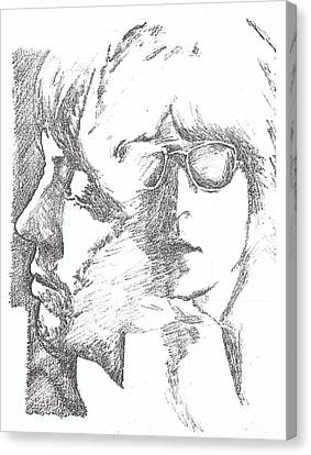 Lennon Mccartney Two Of Us Canvas Print