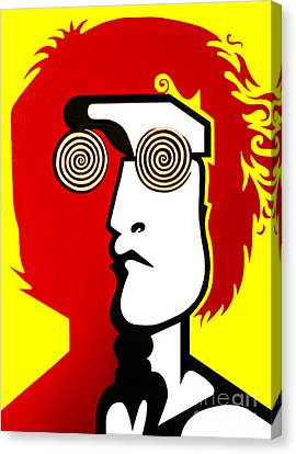 Lennon Ryb Canvas Print by Kenny Cannon