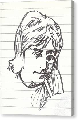 Lennon Sun King Canvas Print