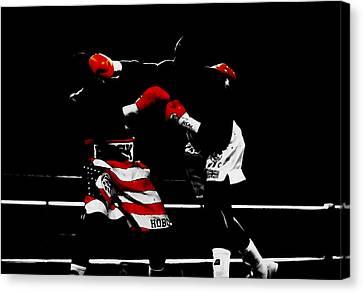 Lennox Lewis Canvas Print