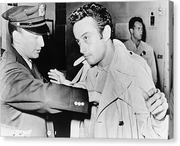 Lenny Bruce 1925-1966, Being Searched Canvas Print by Everett