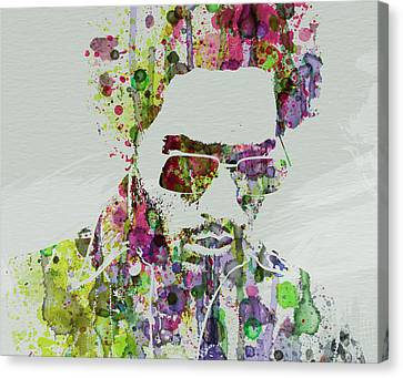 Lenny Kravitz 2 Canvas Print by Naxart Studio