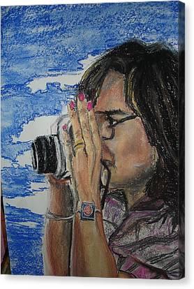 Lentes Canvas Print by Ana Picolini