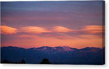 Lenticular Clouds Canvas Print