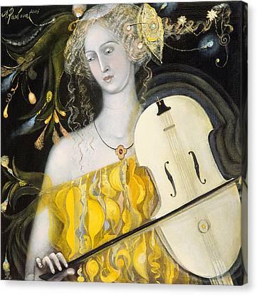 Music Canvas Print - Leo by Annael Anelia Pavlova