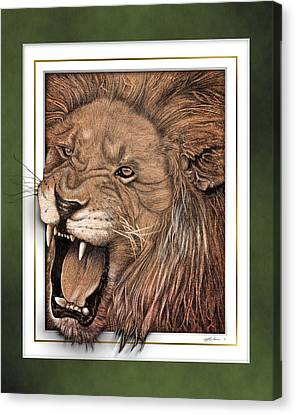 Leo Canvas Print by Jim Turner