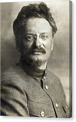 Leon Trotsky Canvas Print