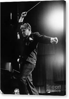Leonard Bernstein Canvas Print by Granger