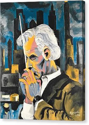 Leonard Bernstein Portrait Canvas Print