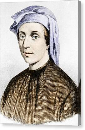 Leonardo Fibonacci, Italian Canvas Print by Science Source