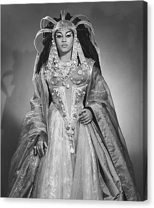 Leontyne Price B. 1927, As Cleopatra Canvas Print by Everett