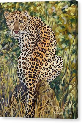 Carolinestreet Canvas Print - Leopard by Caroline Street