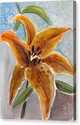Leopard Lily Canvas Print