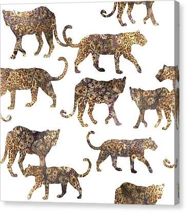 Leopards Canvas Print
