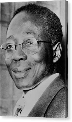 Senegal Canvas Print - Leopold Sedar Sengho 1906-2001 by Everett