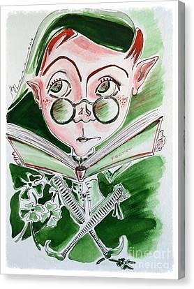 Leprechaun Limericks Canvas Print by Barbara Chase