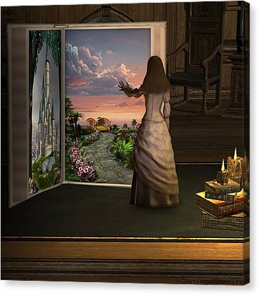 Let Your Imagination . . . Canvas Print by David Griffith