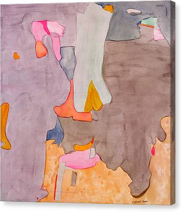 Les Demoiselles Of Santa Cruz V6 Canvas Print by Susan Cafarelli Burke