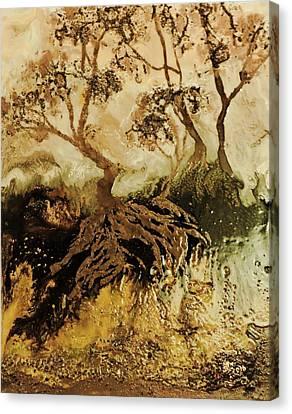 Les Feuillus  Canvas Print by Janine Boudreau