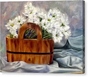 Les Fleurs D'ete Canvas Print