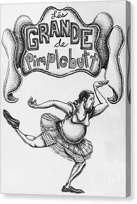 Les Grande De Pimplebutt Canvas Print