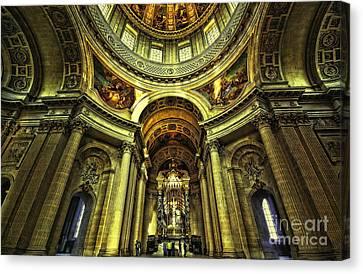 Les Invalides  Paris Canvas Print by Charuhas Images
