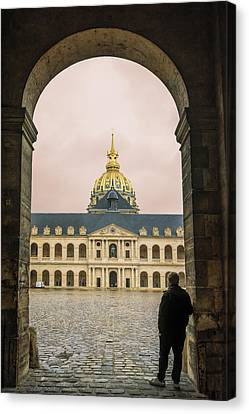 Les Invalides Paris Canvas Print by Joan Carroll