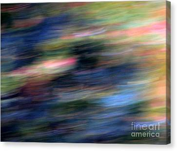 Canvas Print featuring the photograph Les Nuits by Steven Huszar