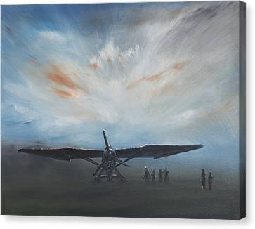 Les Secret Obscure Lysander Canvas Print by Vincent Alexander Booth