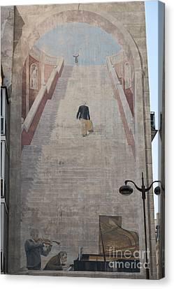 L'escalier By Fabio Rieti Canvas Print