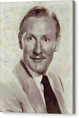 Leslie Phillips, Carry On Actor Canvas Print