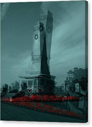 Lest We Forget. Canvas Print by Keith Elliott