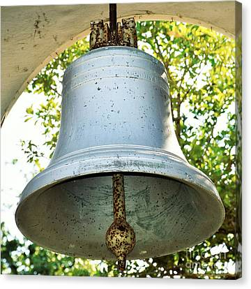 Canvas Print featuring the photograph Let Freedom Ring ...  by Ray Shrewsberry