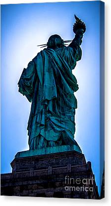 American Independance Canvas Print - Let Freedom Ring by James Aiken