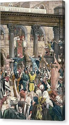 Let Him Be Crucified Canvas Print by Tissot