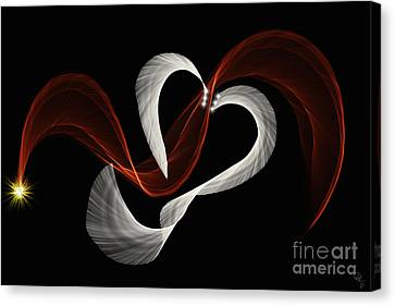 Let It Flow Canvas Print by Cheryl Gidding