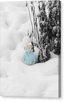Let It Snow Canvas Print by Al Bourassa
