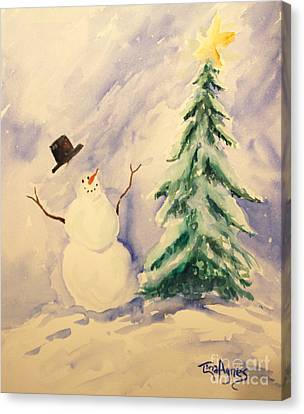 Canvas Print - Let It Snow by Tina Sheppard