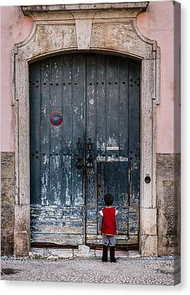 Let Me In Canvas Print by Marco Oliveira
