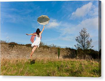 Let The Breeze Guide You Canvas Print